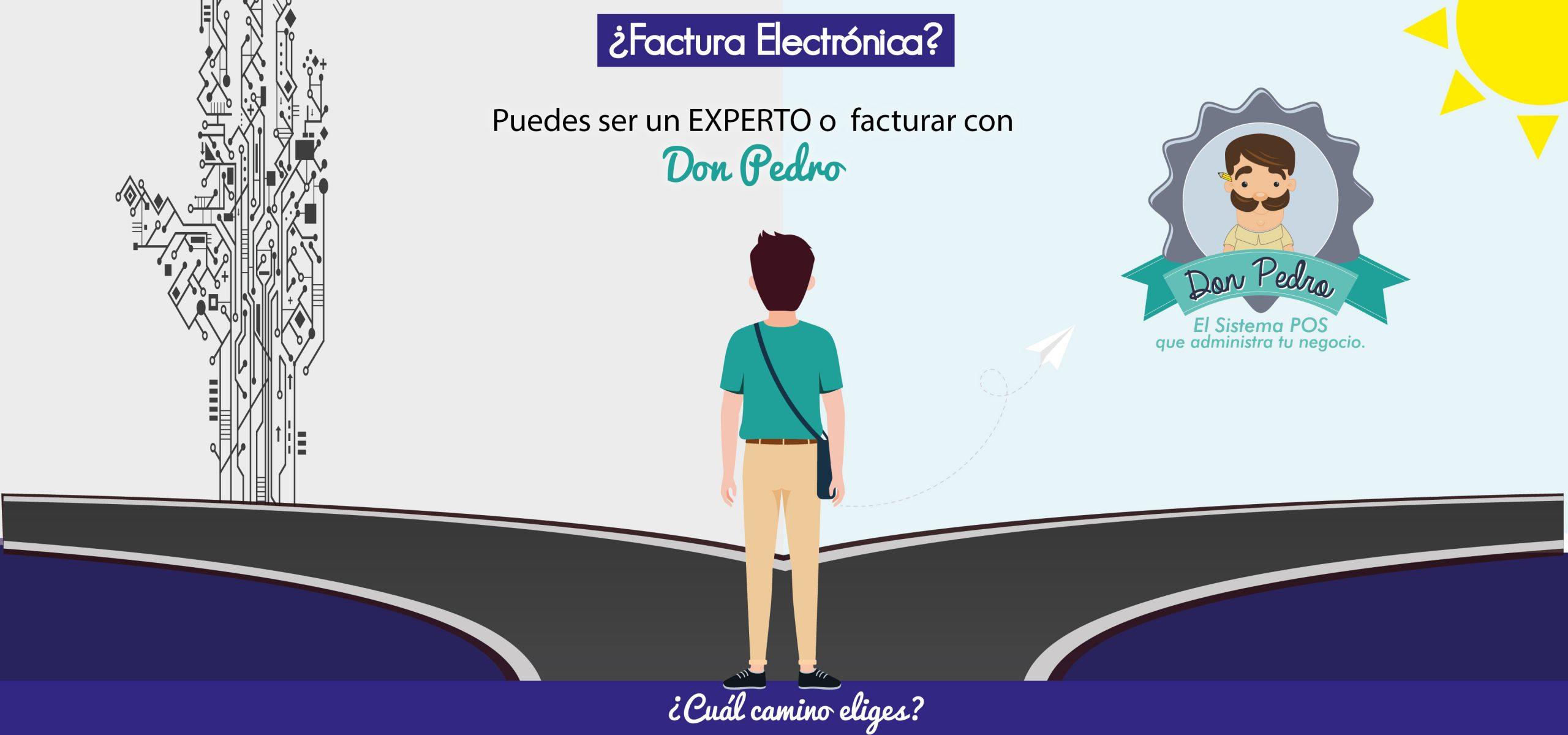 Banner Factura Electrónica Don Pedro 10