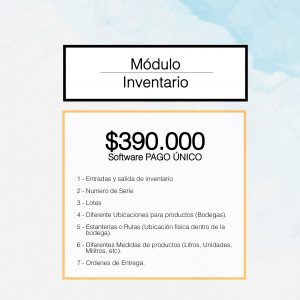 módulo de inventario 03